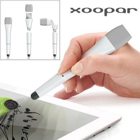 Stylet Xoopar 3 en 1 - Gris