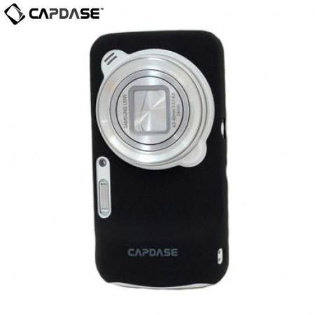Capdase Karapace Jacket for Samsung Galaxy S4 Zoom - Black