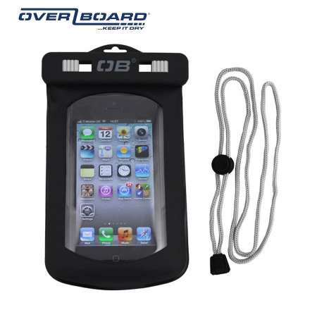 best service 7d3f0 0fb54 Overboard Waterproof Case for iPhone 5S / 5C / 5 / 4S / 4 - Black