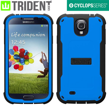 Trident Cyclops Case for Samsung Galaxy S4 - Blue