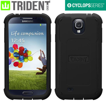 Trident Cyclops Case for Samsung Galaxy S4 -  Black