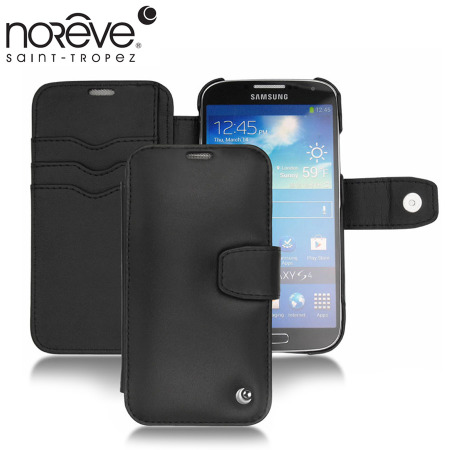 Noreve Tradition B Leather Case for Samsung Galaxy S4 - Black