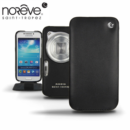 newest collection cd7ca e08f8 Noreve Tradition Leather Case for Samsung Galaxy S4 Zoom - Black