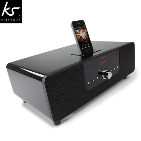 KitSound BoomDock 2.1 iPod Speaker System