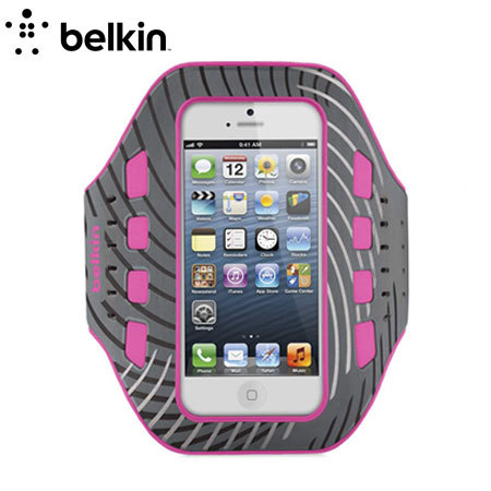 Belkin Pro-Fit Armband for iPhone 5 - Pink
