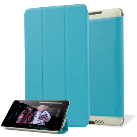 Stand and Type Case for Google Nexus 7 2013 - Blue