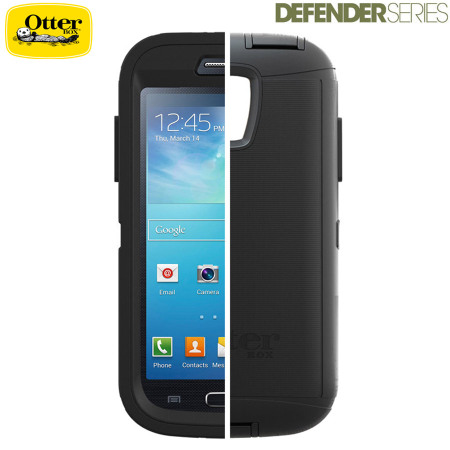 newest collection d642f 9a724 OtterBox Defender Series for Samsung Galaxy S4 Mini - Black