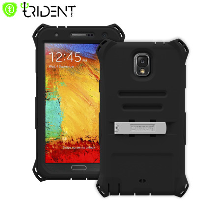 Trident Kraken AMS Samsung Galaxy Note 3 Case - Black
