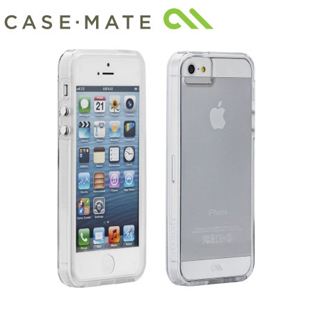 various colors e6a87 f320a Case-Mate Tough Naked Case for iPhone 5/5S - Clear/White