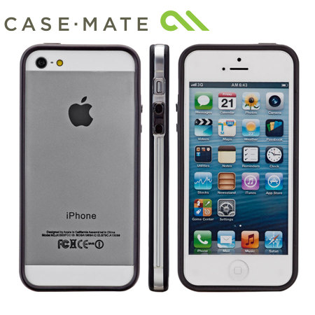 release date: 1bc24 07f83 Case-Mate Hula Bumper for iPhone 5S/5 - Black