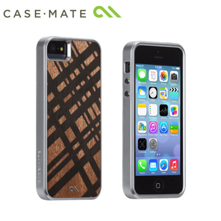 Case-Mate Artistry Woods Case for iPhone 5S/5 - Carved Mahogany