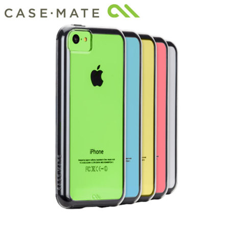 Case-Mate Tough Naked Case for iPhone 5C - Clear/Black