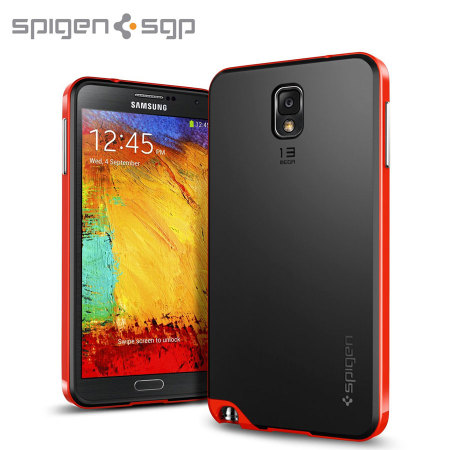 Spigen SGP Neo Hybrid Case for Samsung Galaxy Note 3 - Dante Red