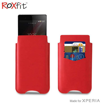 Roxfit Wallet Case for Sony Xperia Z2 / Z1 - Monza Red