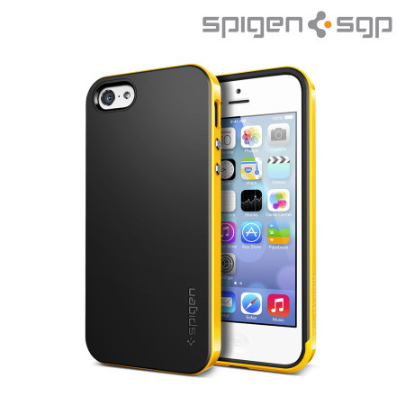 yellow iphone 5c spigen sgp neo hybrid for iphone 5c reventon yellow 13332