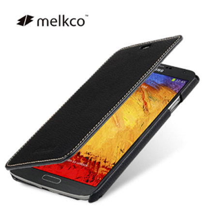 timeless design 46e62 938d5 Melkco Premium Leather Book Case for Samsung Galaxy Note 3 - Black