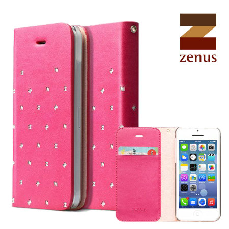 iphone 5c in pink zenus masstige z brogue diary for iphone 5c pink 6170