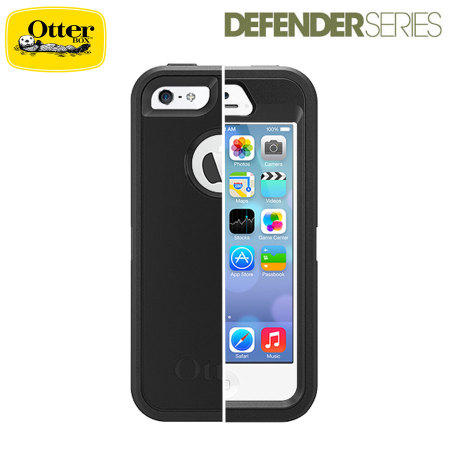 coque iphone 5s 5 otterbox defender series noire avis. Black Bedroom Furniture Sets. Home Design Ideas