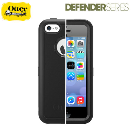 brand new 7b1fa 5dd36 OtterBox Defender Series for iPhone 5C - Black