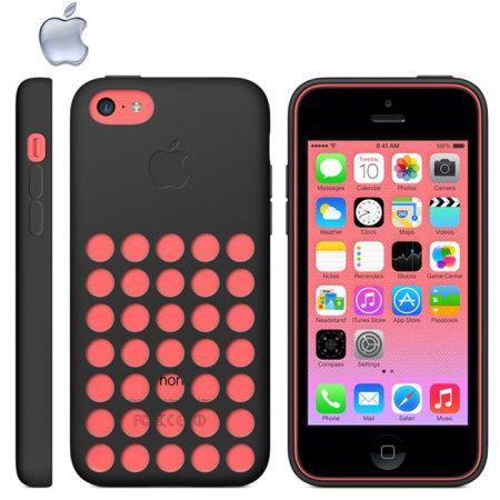 4198b1e3ad3 Funda Oficial de Apple para el iPhone 5C - Negra