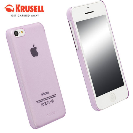 purple iphone 5c krusell frostcover for iphone 5c purple 12820