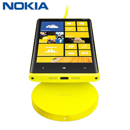 Nokia Qi Wireless Charging Plate - Yellow