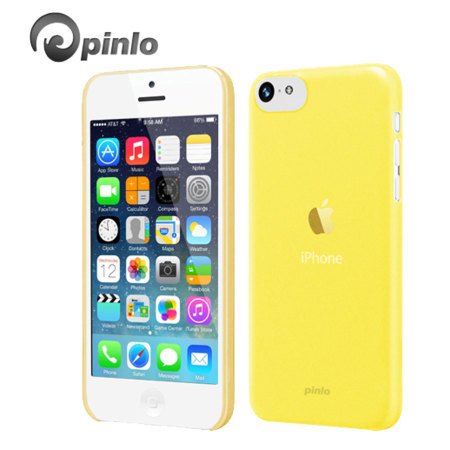 Pinlo Slice 3 Case for iPhone 5C - Yellow Transparent