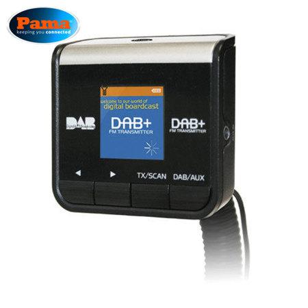 pama plug 39 n 39 go in car dab radio receiver with fm transmitter. Black Bedroom Furniture Sets. Home Design Ideas