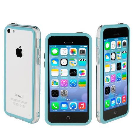bumper iphone 5c bleu. Black Bedroom Furniture Sets. Home Design Ideas