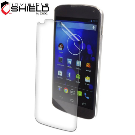 InvisibleSHIELD Screen Protector for Google Nexus 4