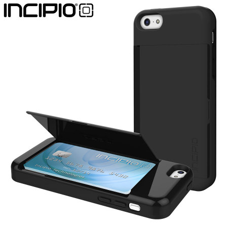 iphone credit card case incipio stowaway credit card for iphone 5c black 3430