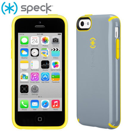 speck iphone cases speck candyshell for iphone 5c grey yellow 13017