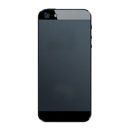 Debrand Conversion Skin for iPhone 5S / 5 - Black