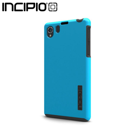 Incipio DualPro Case For Sony Xperia Z1 - Cyan / Charcoal Grey