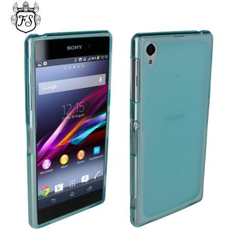 Flexishield for Sony Xperia Z1 - Blue