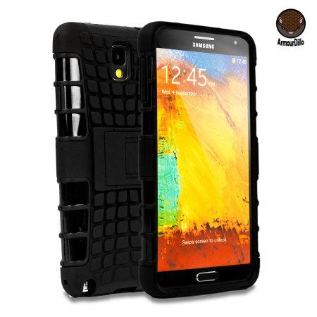 ArmourDillo Hybrid Protective Case for Samsung Galaxy Note 3 - Black