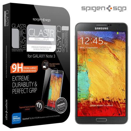 Protection d'écran Samsung Galaxy Note 3 SGP GLAS.tR SlimTempered