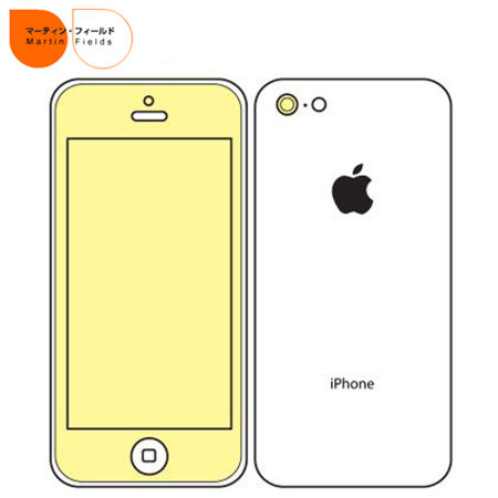 Martin Fields Screen Protector - iPhone 5C