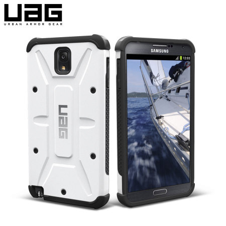 UAG Protective Case for Samsung Galaxy Note 3  - Navigator - White