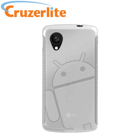 Cruzerlite Androidified A2 TPU Case for Google Nexus 5 - Clear