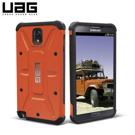 promo code 11f5e 1ebc7 UAG Protective Case for Samsung Galaxy Note 3 - Outland - Orange