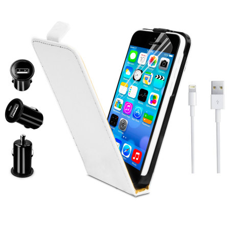 white iphone 5c iphone 5c starter pack white 13298