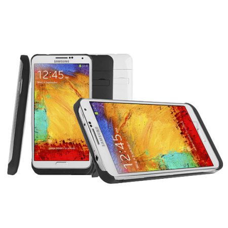 Power Jacket Case 3800 mAh for Samsung Galaxy Note 3 - White