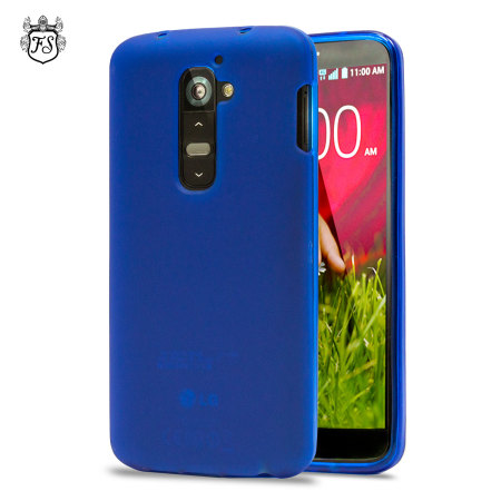 Flexishield Case for LG G2 - Blue