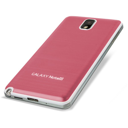 Metal Replacement Back for Samsung Galaxy Note 3 - Pink
