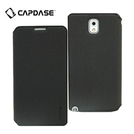 Capdase Sider Baco Folder Case for Galaxy Note 3 - Black
