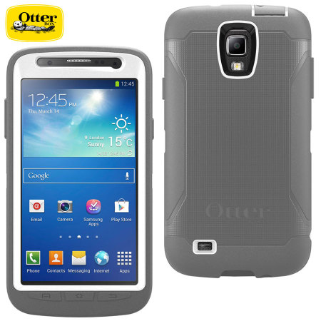 save off 783a2 426e8 OtterBox Defender Series for Samsung Galaxy S4 Active - Glacier