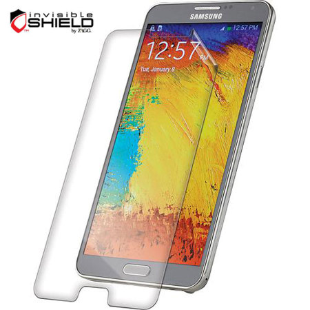 InvisibleShield Case Friendly HD Screen Protector - Galaxy Note 3