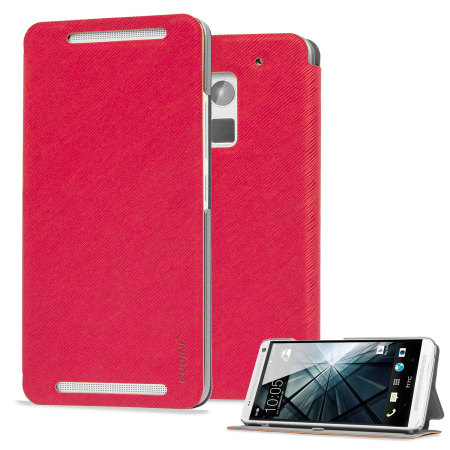 Flip Folio Case for HTC One Max - Pink