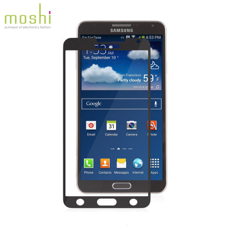Moshi iVisor XT Screen Protector for Samsung Galaxy Note 3 - Black